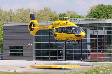 Die meisten Hubschrauber der Luftrettung sind in erster Linie schnelle Notarztzubringer!