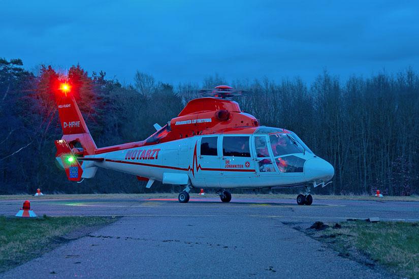 Die in der Luftrettung eingesetzten Hubschraubertypen sind überwiegend schon seit Jahren oder Jahrzehnten praxiserprobt und bewährt