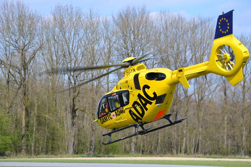 Einsatz in Österreich und Bayern: ADAC-Maschinen fliegen grenzüberschreitend