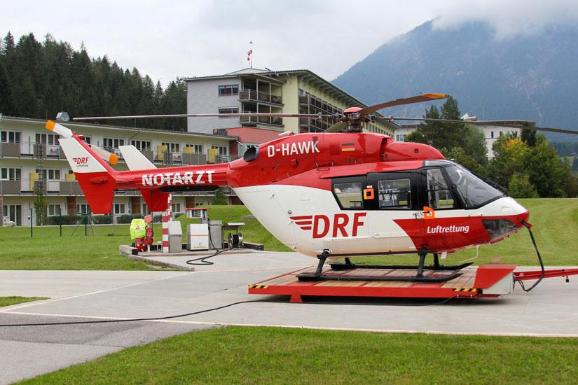 Einsätze im alpinen Gelände sind die Spezialiät der ARA