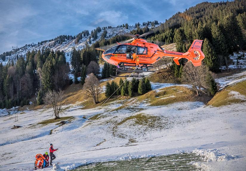 Die neue Generation Zivilschutz-Hubschrauber: EC 135 T2i