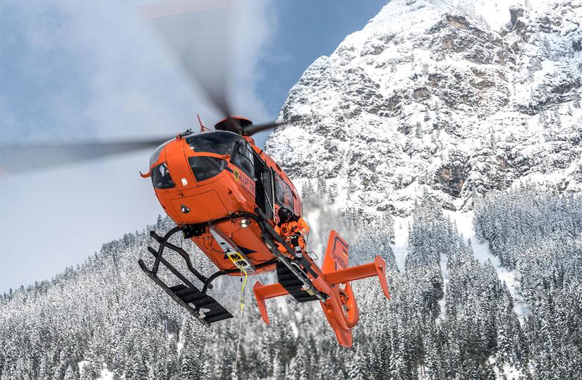 Die Zivilschutzhubschrauber fliegen nur tagsüber im Rettungsdienst