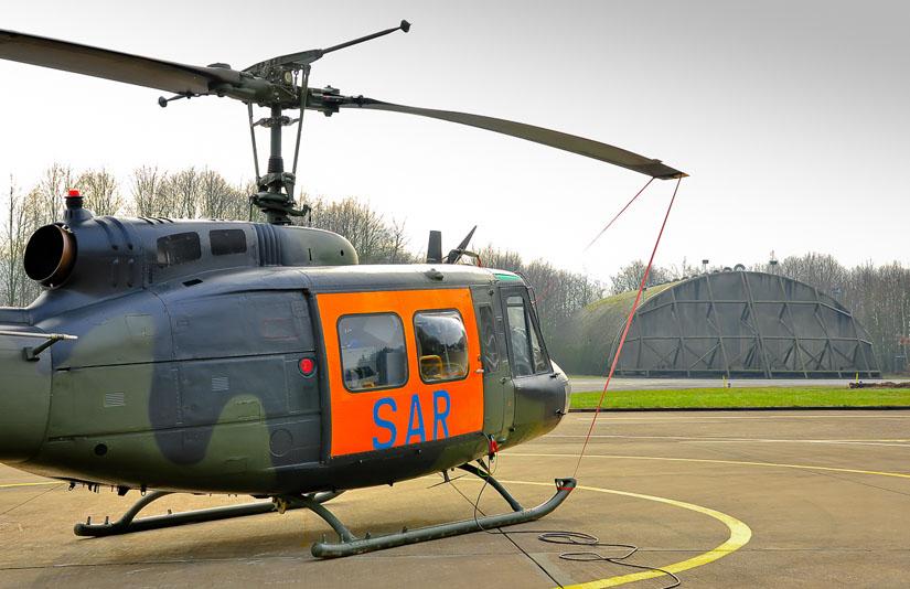 Bell UH-1D in SAR-Bereitschaft auf Fliegerhorst