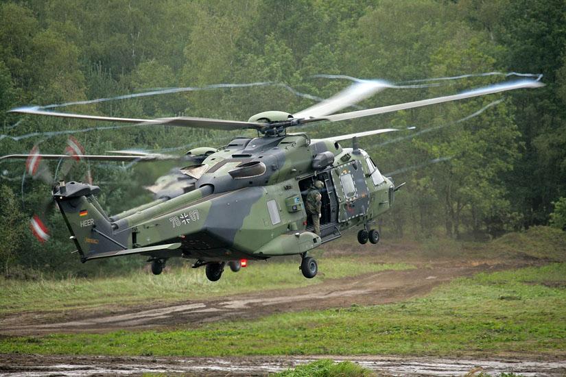 Auf ihn setzt die Bundeswehr: Der NH 90 Allzweckhubschrauber