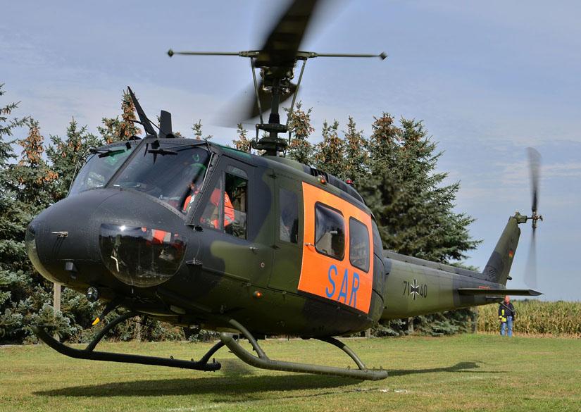 Hat sich auf die ursprünglichen SAR-Aufgaben zurückgezogen: Die Bundeswehr