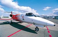 Speziell ausgerüstetes Flugzeug zur Repatriierung