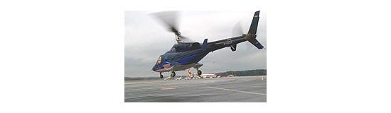 Rhein-Ruhr-Helicopter war nur kurze Zeit an der Luftrettung in Deutschland beteiligt