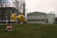 Christoph 15 am alten Standort in Straubing