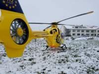 Ein Rettungshubschrauber der ADAC Luftrettung (Symbolfoto)
