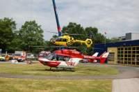 """Im Vorjahr wurden beide Bremer Luftrettungsmittel permanent von der Leitstelle angefordert (hier Alarmstart des RTH """"Christoph 6"""")"""