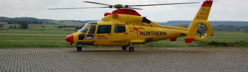Werden die AS 365 N2/N3 von NHC künftig das Logo der DRF Luftrettung tragen?