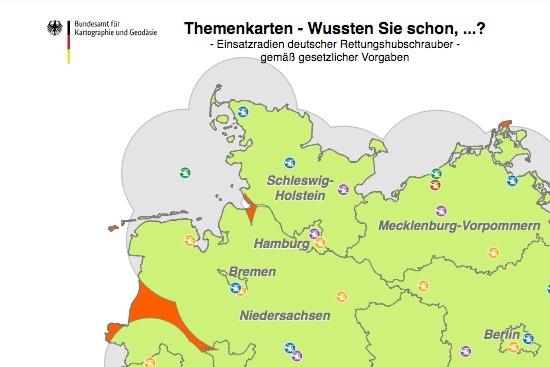 Ausschnitt aus der besagten Karte