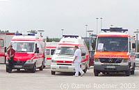 Rettungsdienst- Schau