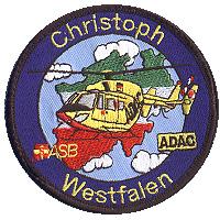 Der Aufnäher des Christoph Westfalen kann für 5 Euro auf der Homepage bestellt werden