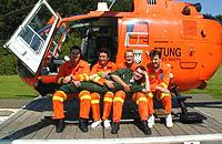 Crewmitglieder vom Christoph 8