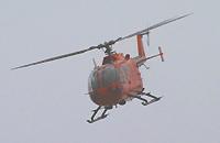Im Flug: Die BO 105 CBS-5.
