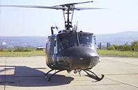 Bell UH-1D in Koblenz - hier jedoch SAR Nörvenich zu Besuch