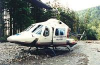 Nasse Füße gab es auch für den ITH Murnau einmal bei einer Landung in einem Flussbett bei einem Primäreinsatz