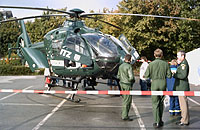 Der BGS stellte ebenfalls eine EC 135 aus