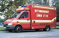 """Feier für """"Christoph 8"""": Rettungsdienst Lünen/ Unna"""