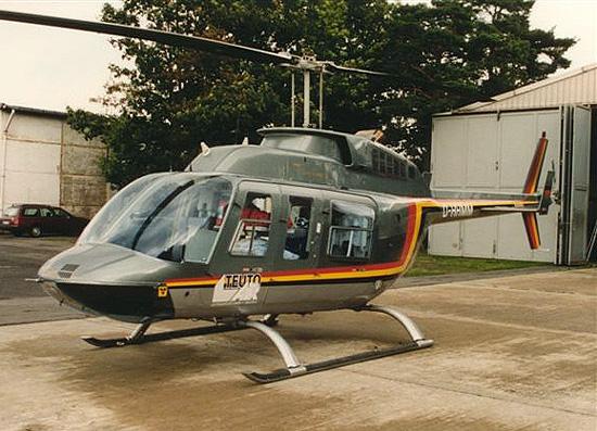 Die D-HHMM von TeutoAir löste die Bell 205 ab