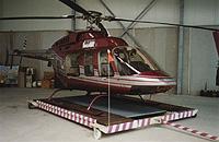 Bell 407 in Paderborn