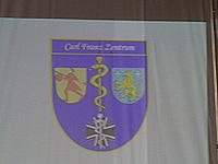 Logo des geplanten Carl-Franz-Zentrums, präsentiert via Beamer