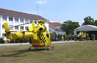 Einweihung der EC 145 in Mainz