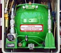"""Flüssigsauerstoff in der EC 145 """"D-HWVS"""""""