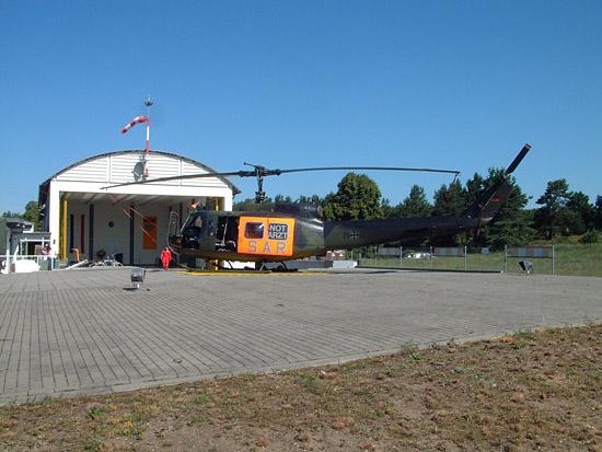 Letztmalig Hausherr in Neustrelitz: SAR 93 des Lufttransportgeschwaders 62