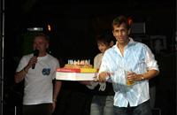 Noch ein Grund zu Feiern: der Geburtstag von Gerhard Wittmann.