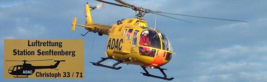 Christoph 33 im Anflug auf die Station. Das LRZ Senftenberg ist das einzige der ADAC Luftrettung, dass im Regelbetrieb noch eine BO 105 CBS fliegt