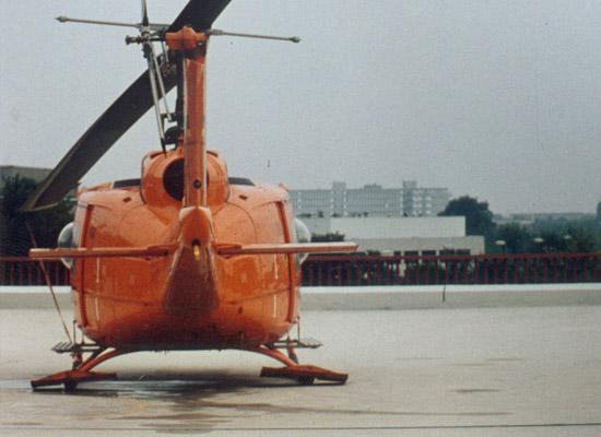 In den 1990ern: Die Bell UH-1D