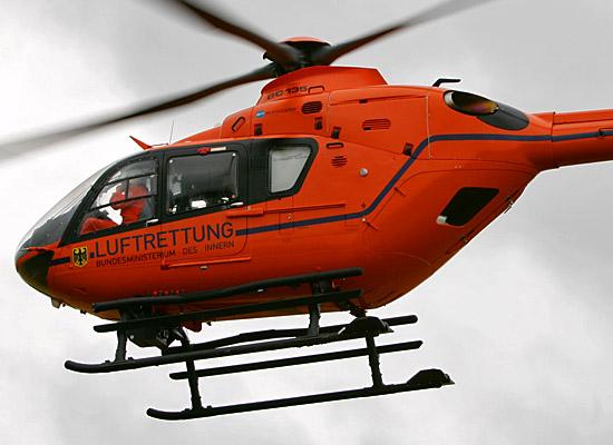 Einsatzbilder der neuen EC 135