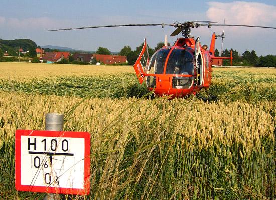 Die BO 105 brachte jahrelang Hilfe auch im Hannoveraner Umland