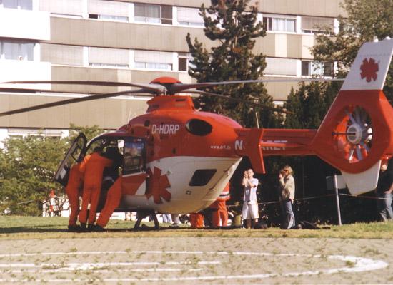 Seit dem 20.04.2007 fliegt man auf einer EC135