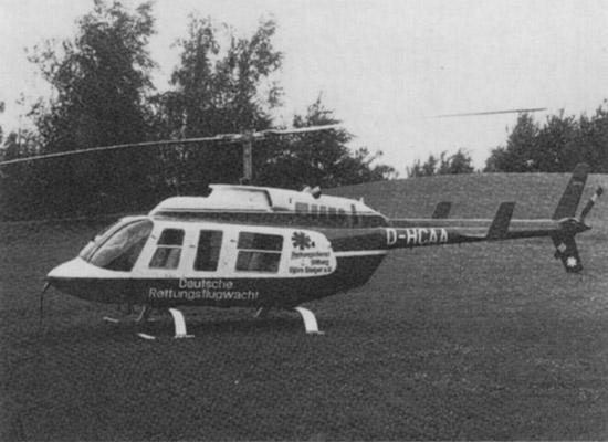"""Die """"D-HCAA"""" löst die Ersatzmaschine nach dem Absturz im Oktober 1977"""