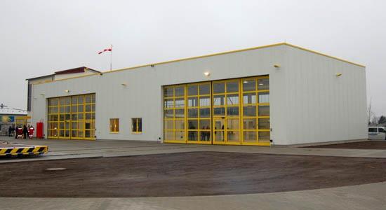 Das neue Luftrettungszentrum in der Totalen
