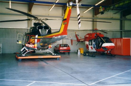 Hangar des LRZ Bad Berka (Neubau)