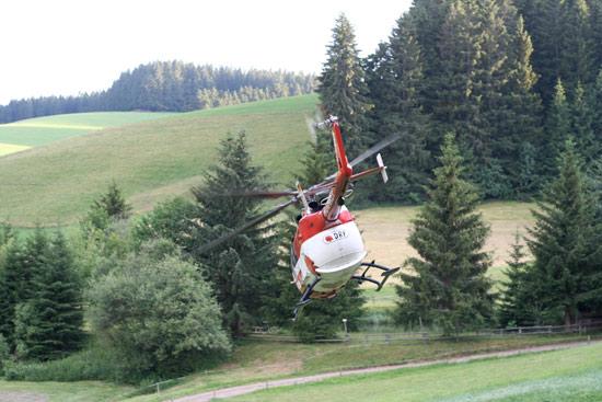 Die malerische Landschaft birgt Risiken für den Flugbetrieb in der für die Luftrettung erforderlichen geringen Flughöhe