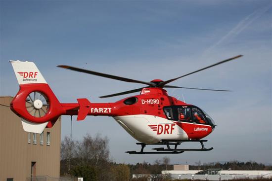 Christoph 11 startet durch mit der neuen EC 135, welche 2009 die betagte BO 105 ersetzte - rht.info berichtete darüber