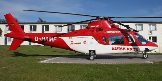 Der Vorgänger: Agusta A109 A D-HAMF