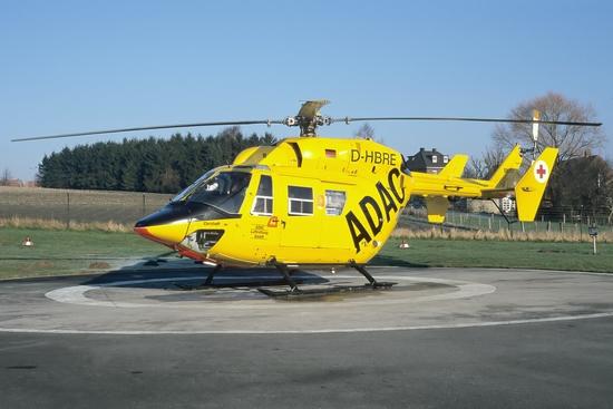 Amtshilfe durch eine BK-117 am 10.02.2001