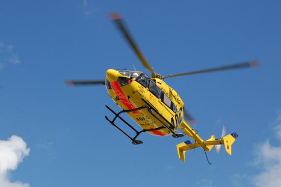 """""""Christoph 77"""" fliegt bereits seit vielen Jahren mit einem Eurocopter vom Typ EC 145"""