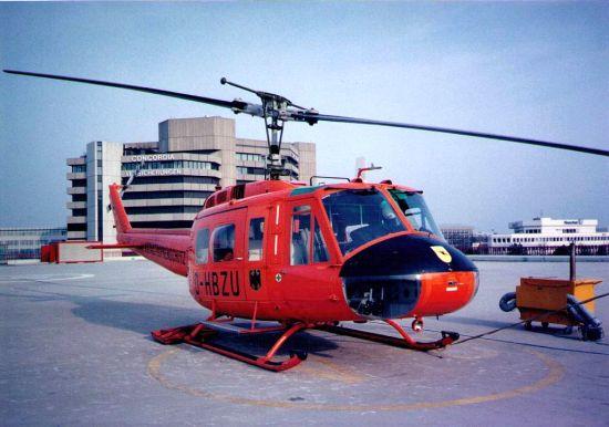 Einsatzmuster von 1984-1997: Die geräumige Bell UH-1D