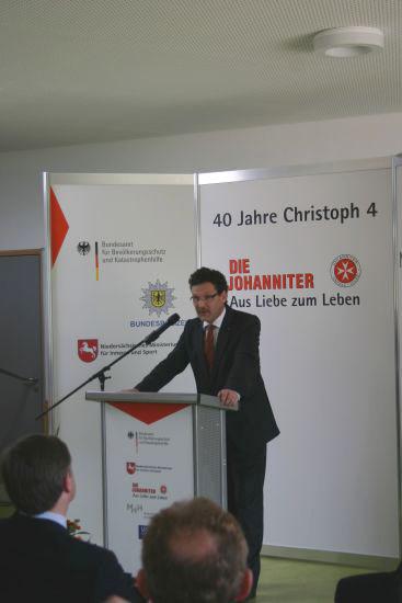 """""""Es bleibt beim Engagement des Bundes."""" Christoph Unger, BBK"""
