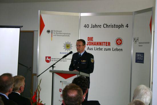 """""""Christoph 4"""" steht auf vier Säulen, so Markus Ulfig"""
