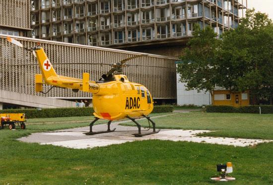 """Diverse Maschinen wurden als """"Christoph 31"""" eingesetzt, hier im Bild die """"D-HEIM"""""""