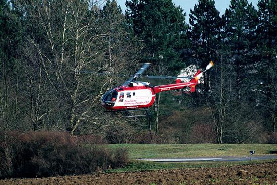 """Die """"D-HLLL"""" beim Landeanflug in Leonberg"""