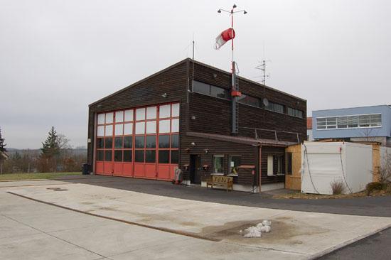 Am 11. Januar 2011, kurz nach der Übernahme der Station durch die ADAC Luftrettung, sieht man dieser bereits das Alter von 30 Jahren recht gut an